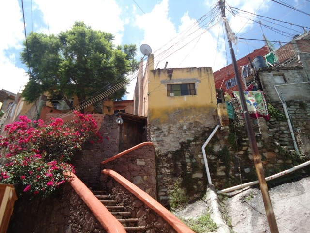 Gassen in Guanajuato