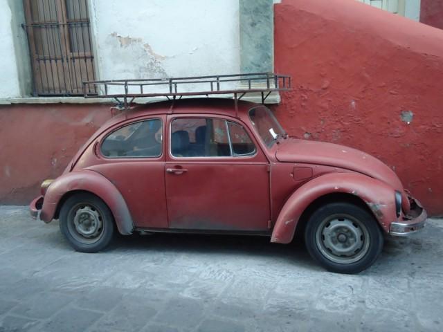 Alte VW, wie man sie überall sieht