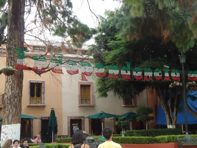 Independencia - Die Städte sind seit Wochen für den 16. September geschmückt