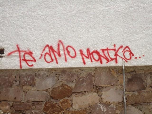 Graffitiliebeserklärung - Graffiti sieht man sonst selten