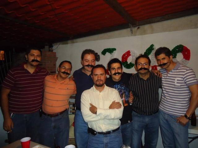 Alle Mexikaner tragen Schnurrbart... - zumindest bei der Fiesta
