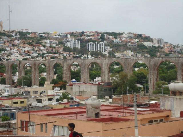 Aquädukt in Querétaro