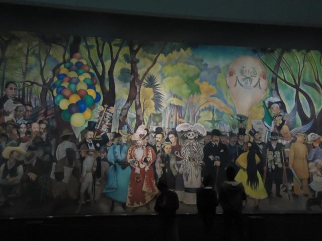 """Diego Rivera """"Traum an einem Sonntagnachmittag im Alameda-Park"""""""