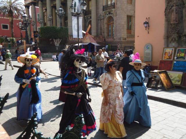 Catrinas - mexikanischer Humor