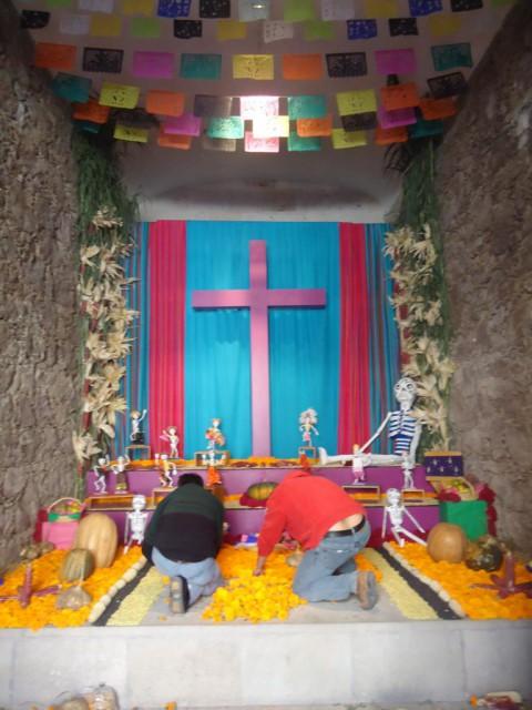Am 2. Nov. wird der Tod als Teil des Lebens gefeiert